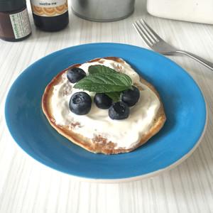 Gluten, dairy free, vegan pancakes