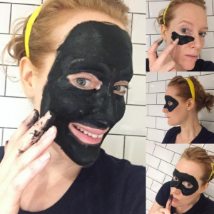 ease congested skin with activated charcoal