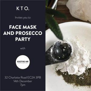 face mask & prosecco, know the origin